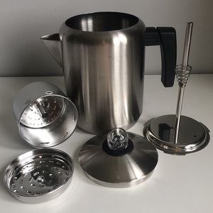 Copco Stainless Steel Stove Top Camping Coffee Pot
